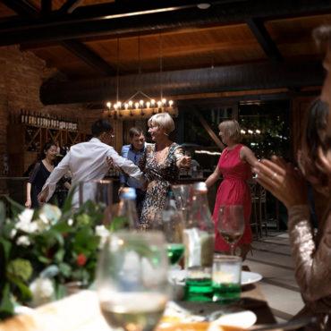 Свадебный ужин в Грузии