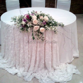 Флористика в Грузии на свадьбу