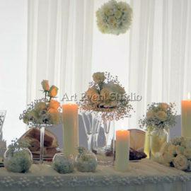 Оформление свадебного ужина в Грузии