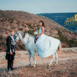 Фотосессия с конем в Грузии