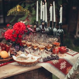 Вино, Цветы и Грузия - Свадьба в Грузинском стиле