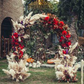 Арка для свадебной церемонии