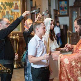 Венчаниие в Тбилиси, храм Метехи