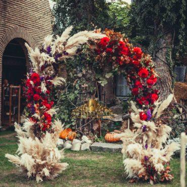 Свадебная церемония в Грузии, Арка