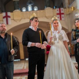 Грузинское венчание