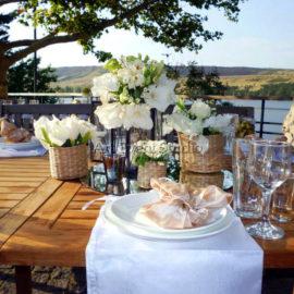 Свадьба в Тбилиси на озере Лиси