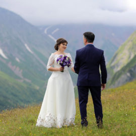 WEDDING IN MOUNTAINS OF GEORGIA