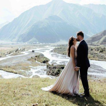 Свадьба в горах Грузии