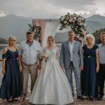 Камерная свадьба в Грузии Кварели Лэйк