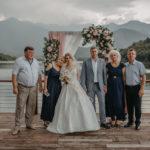 Свадьба у озера в Грузии