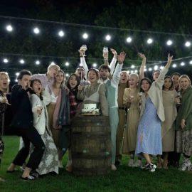 Свадьба на винодельне в Грузии