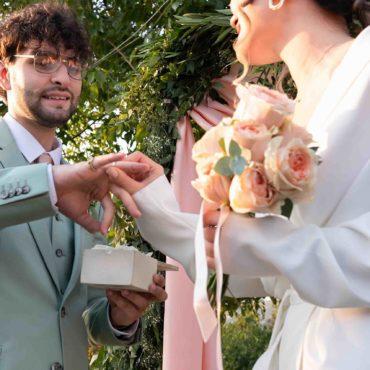 Церемония бракосочетания в Грузии