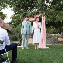 Символическая церемония бракосочетания в Грузии