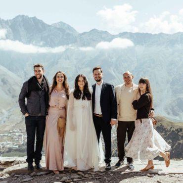 Гергети - Венчание