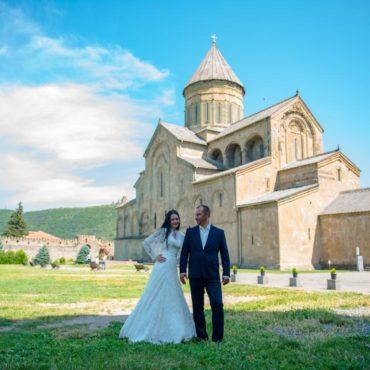 Венчание в Светицховели
